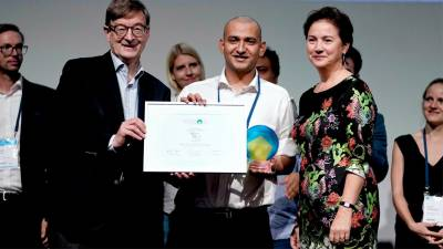 4th Annual World Health Summit Startup Track Has a Winner