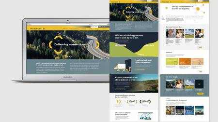 Maintaining a continuous stream of marketing content, creatives and collaterals for one of the biggest transport logistics cloud providers - Slide